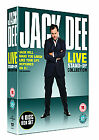 Jack Dee - Live At The Palladium/Live In London/Live At The Hammersmith Apollo 2002/Live Again (DVD, 2006, 4-Disc Set, Box Set)