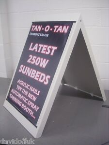 A-BOARD SNAP FRAME 750 X 550 MM RETAIL SIGNAGE ADVERTISING MARKETING #160