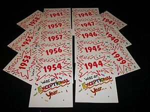 1940s-and-1950s-Year-of-Birth-BIRTHDAY-CARD-ENVELOPE-New