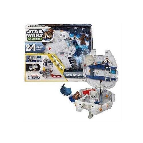 Hasbro estrella guerras Playskool Heroes Jedi Force Millennium Falcon With  Han Solo   alta qualità genuina