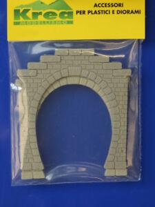 Tunnel-Portale-1-binario-per-plastico-diorama-pezzi-2-scala-N-1-160-Krea