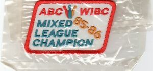 1985-86-MIXED-LEAGUE-CHAMPION-ABC-WIBC-BOWLING-PATCH