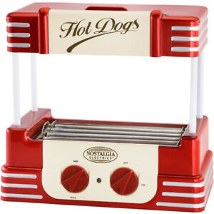 mini hot dog roller grill machine bun warmer electric. Black Bedroom Furniture Sets. Home Design Ideas