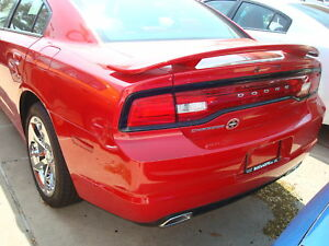 2011-2015-Dodge-Charger-Primed-Unpainted-Rear-Spoiler-Factory-Style-Wing-NEW