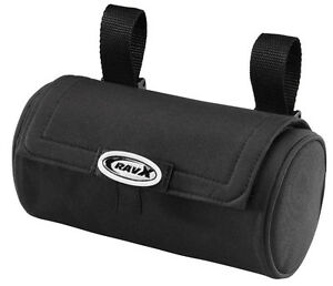 TUBE-BAG-BLACK-HANDLEBAR-OR-SEAT-MOUNT-NEW-CRUISER-LOWRIDER-MTB-BMX-ROAD-BIKE