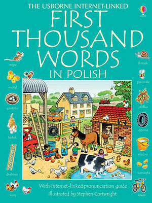 First Thousand Words in Polish, Mackinnon, Mairi, Very Good Book