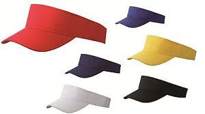 MB-FASHION-SUN-VISOR-SPORTS-GOLF-TENNIS-HEADBAND-CAP-HAT-8-GREAT-COLOURS