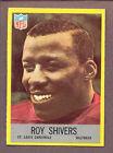 1967 Philadelphia Roy Shivers #164 Football Card