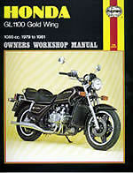HAYNES-WORKSHOP-MANUAL-FOR-A-HONDA-GL1100-GOLD-WING
