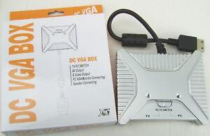 Dreamcast-VGA-AV-S-VIDEO-HD-HDTV-Box-Improved-Design