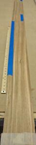 "Zebrawood wood veneer 5"" x 106"" raw no backing 1/42"" thickness Quarter Cut grain"