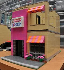 LEGO-City-Custom-Ice-Cream-Shop-10185-10182-Paradisa-Friends-3315-3188-3187