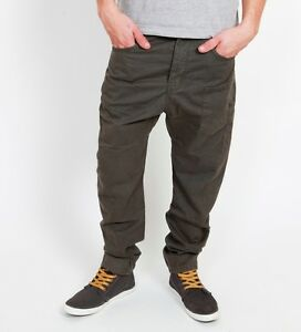 Details Chino Antifit Bo Röhre Clubwear Drop Hose About Low Crotch Pant Green Khaki Vsct EH29WYDI