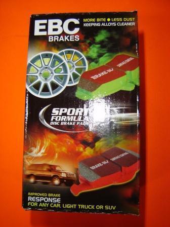 CERAMIC EBC Red Stuff  Ford FPV BA BF FG  BREMBO REAR Disc Brake Pads