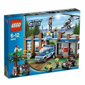Lego City Forest Police Station 4440 For Sale Online Ebay