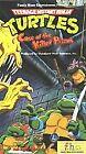 Teenage Mutant Ninja Turtles - Case of the Killer Pizzas (VHS, 1989)