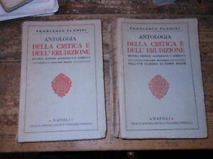 Antologia-della-critica-e-dell-039-erudizione-Flamini-2-vol-1914-ed-Perrella-L1