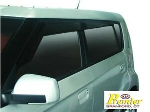 KIA-SOUL-SPORT-VISORS-WINDOW-RAIN-NEW-OEM-2010-2011-2012-2013-GAURDS