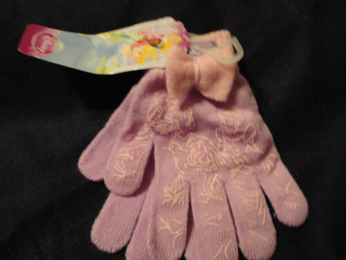 ASSORTED STYLES PURPLE AND PINK ONE SIZE DISNEY GIRLS GLOVES