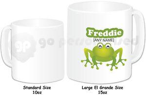 Personalised-El-Grande-Large-15oz-Mug-Frog-Design-Any-Name