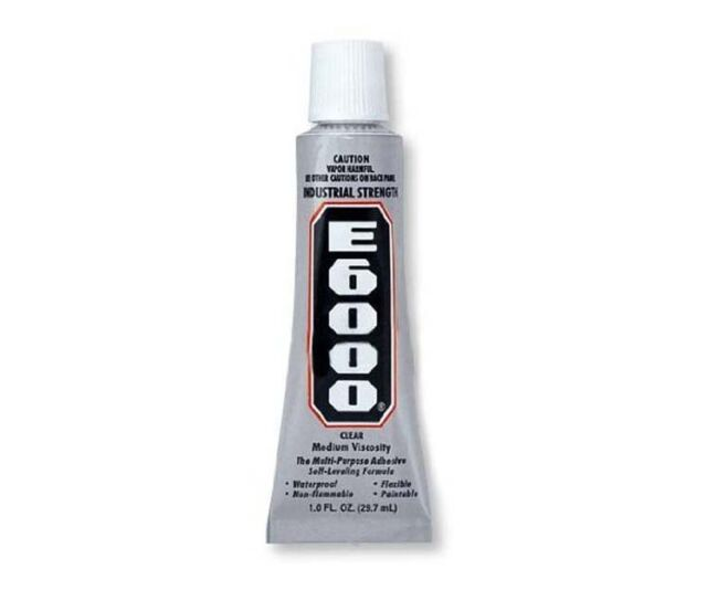 E6000 Clear Permanent Bond Crafting Adhesive Glue 1 oz.