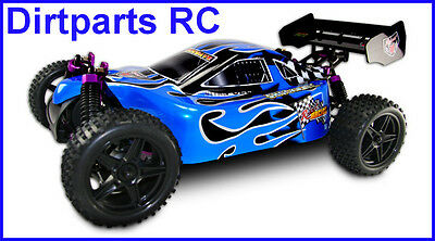 Redcat Racing Shockwave Buggy BLUE 1/10 Scale Nitro 4WD
