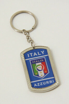 Azzurri Football Keyring Italy World Cup Keychain Italia Soccer Key Ring Ita NEW