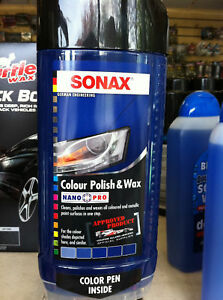 sonax colour polish and wax nano t cut mclaren 500ml ebay. Black Bedroom Furniture Sets. Home Design Ideas