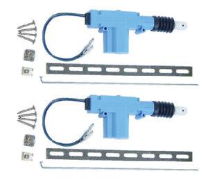 2 x universal heavy duty power door lock actuator motor 12 for 12vdc door lock actuator