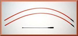 "Garmin Astro 220 / 320 Flexible 14"" & 2 - DC 40 Tuff Skin Long Range Antenna set"