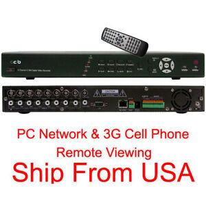 CIB-K808AV-8-Channel-Security-Video-Surveillance-DVR-Camera-System-No-HDD