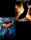 The Dark Knight/Batman Begins (DVD, 2008, 4-Disc Set, Box Set)