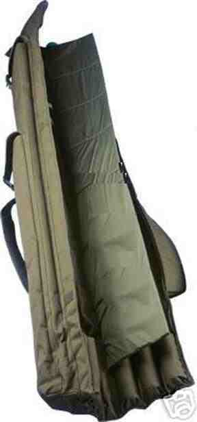 Abode® Oxford 12ft 3 Rod Padded Carp Carp Carp Bag Fishing Holdall 3cc332