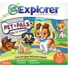 LeapFrog Explorer Learning Game Pet Pals 2 (works with LeapPad and Leapster Explorer) - 39087