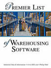 Premier List of Warehousing Software and Warehouse Management Systems by Philip D Obal (Paperback / softback, 2007)