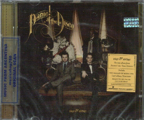 PANIC! AT THE DISCO VICES & VIRTUES SEALED CD NEW 2011