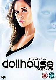 Dollhouse - Series 1 - Complete (DVD, 2009, 4-Disc Set) drama thriller cult