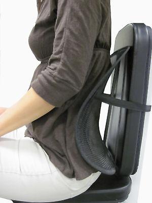 Mesh Lumbar Back Brace Support Car Seat Chair Cushion