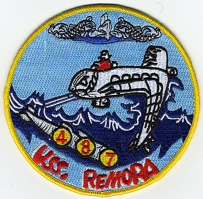 USS Remora SS 487Diesel Boat Submarine Patch - BC Patch Cat. No. c6988