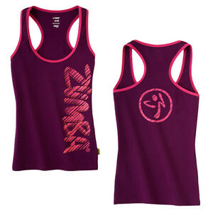 Zumba-Fast-Dash-Racerback-Top-Zumbawear-Dance-All-Sizes