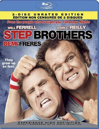 Step Brothers (Blu-ray Disc, 2008, 2-Disc Set)