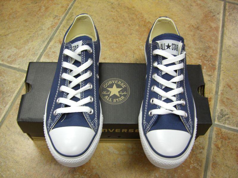 Converse Chucks All Star OX Größe 46,5 blau navy M9697C Neu Sneaker