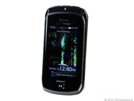 Pantech CRUX CDM8999 Camera Bluetooth CDMA Video Touch VERIZON Cell Phone