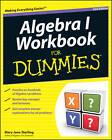 Algebra I Workbook For Dummies by Mary Jane Sterling (Paperback, 2011)