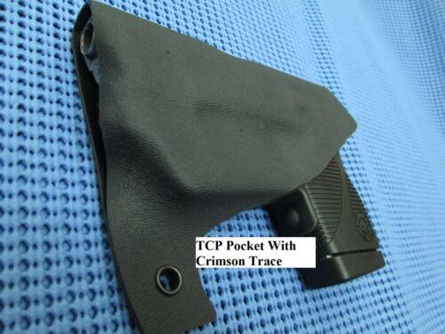 Carbon Fiber Or W// Crimson Trace Taurus TCP 738 Kydex Pocket Holster Black,Pink