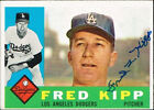 1960 Topps Fred Kipp Los Angeles Dodgers #202 Baseball Card
