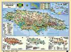 Macmillan Wall Map of Jamaica by Macmillan Education (Wallchart, 2002)