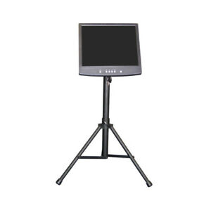 Image Is Loading LCD TFT Monitor TV Floor Stand Tripod DISCO
