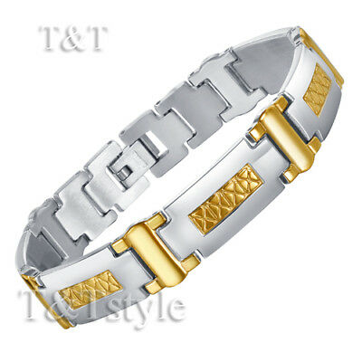 UNIQUE T&T 316L Stainless Steel Bracelet NEW BBR68