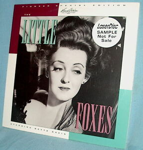 LD-laserdisc-PSE-Rmstr-BETTE-DAVIS-The-LITTLE-FOXES-Herbert-Marshall-GOLDWYN